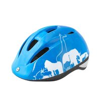 Helmet FORCE Fun Animals 52-56cm M (blue/white)