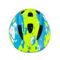 Šalmas FORCE Fun Planets 48-54cm S (fluorescencinė/mėlyna)