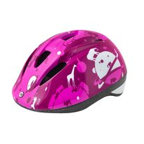 Helmet FORCE Fun Planets 48-54cm S (pink/white)