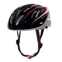 Шлем FORCE Hal 48-54см XS-S (черный/красный/белый)