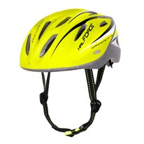 Helmet FORCE Hal 54-58cm S-M (fluorescent/black)