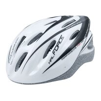 Helmet FORCE Hal 54-58cm S-M (white/black)