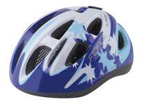 Helmet FORCE Lark 48-54cm S (kids, blue/white)
