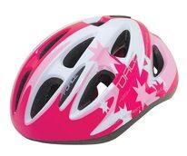 Шлем FORCE Lark 48-54см S  (детский, розовый/белый)