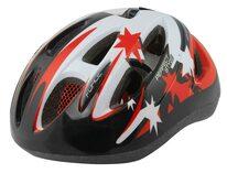 Шлем FORCE Lark 54-58cm M (детский, черный / красный)