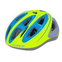Шлем FORCE Lark 54-58см M (детский, флуоресцентный / синий)
