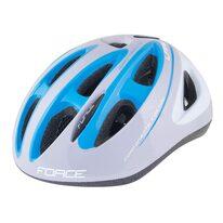 Шлем FORCE Lark 54-58см M (детский, синий/серый)