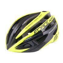 Шлем FORCE Road 58-63cm (L-XL) (черный/флуоресцентный)