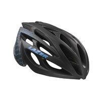 Šalmas LAZER Monroe 52-56cm (juoda/mėlyna)+ dviratininkės kepuraitė