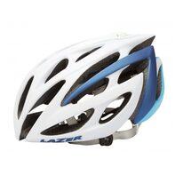 Šalmas LAZER Monroe 52-56cm (balta/mėlyna)+ dviratininkės kepuraitė
