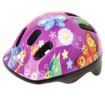 Helmet METEOR MV6-2 Butterfly XS 44-48cm (purple)