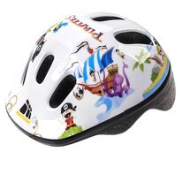 Helmet METEOR MV6-2 pirate S 48-52cm (white)