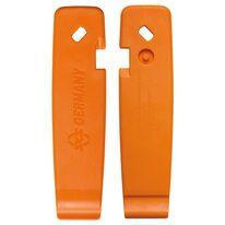 Įrankiai padangos montavimui SKS, 3vnt. (oranžiniai)
