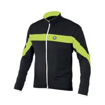 Jacket ETAPE Comfort (black/green) M