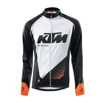 Jersey KTM FL II with removable sleeves (black/white) size L