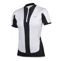 Jersey ETAPE Fortuna (white/black) XL