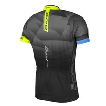 Marškinėliai FORCE Best (juoda/fluorescencinė) XL