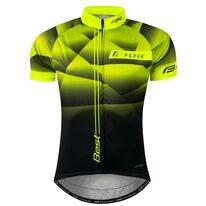 Marškinėliai FORCE BEST, (fluorescentinė/juoda) XXL