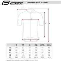 Marškinėliai FORCE CHARM (bordo) M