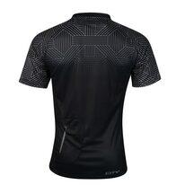 Marškinėliai FORCE City, (juodi/pilki) M