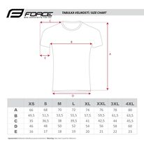 Marškinėliai FORCE City, (juodi/pilki) XL