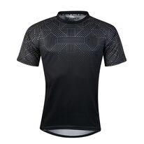 Marškinėliai FORCE City, (juodi/pilki) XXL