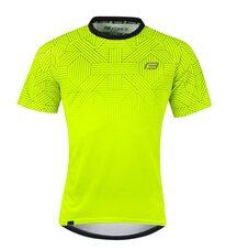 Marškinėliai FORCE CITY (fluorescencinė/juoda)