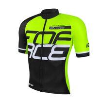 Marškinėliai FORCE Fame (juoda/fluorescencinė)