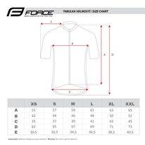 Marškinėliai FORCE Finisher (pilka) XL