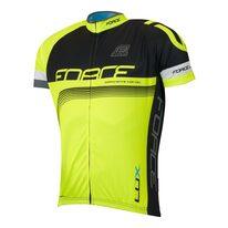 Marškinėliai FORCE LUX (juoda/fluorescentinė)