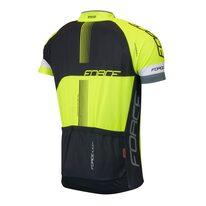 Marškinėliai FORCE LUX (juoda/fluorescentinė) M