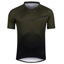 Marškinėliai FORCE MTB ANGLE (chaki) XL