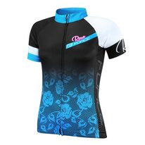 Jersey FORCE Rose (black/blue) XS