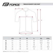 Marškinėliai FORCE Square (juoda/mėtinė) S