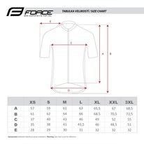 Marškinėliai FORCE Square, (juoda/violetinė) L