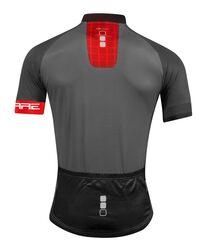 Marškinėliai FORCE SQUARE (pilka/raudona) M