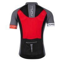 Marškinėliai FORCE T16 (balta/raudona/pilka) M
