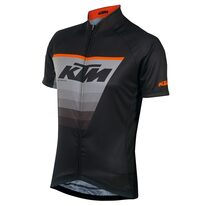 Marškinėliai KTM FL Race (juoda/pilka/oranžinė) XL