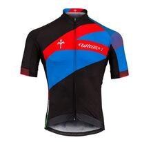 Marškinėliai WILIER Spark (juoda/mėlyna/raudona)