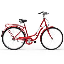 """Kands Retro Line 28"""" size 18"""" (46cm) (steel, red gloss)"""