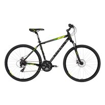 "KELLYS Cliff 70 28"" size 23"" (58cm) (black/green)"