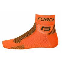Kojinės trumpos FORCE (oranžinė/juoda)