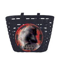 Krepšys ant vairo Star Wars (plastikinis, juodas)