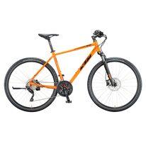 """KTM Life Cross 28"""" dydis 22"""" (56cm) 30G (HE, oranžinė/juoda) 020203116"""