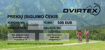 Kuponas 500 Eur