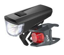 Light set KLS Noble 50lm 2x AA 3 functions