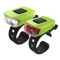 Light set KLS Vega LED 3 functions (lime green)