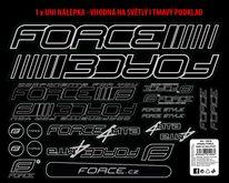 Lipdukai dviračiui Force 4 MTB 37x27cm (su UV laku)