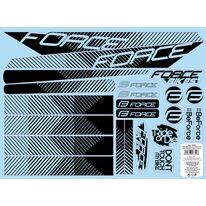 Lipdukai dviračiui Force Line rėmui 37x27cm
