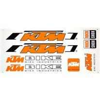 Lipdukai dviračiui KTM 35x17cm